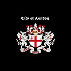 City of London iPad Case by Catherine Hamilton-Veal  ©