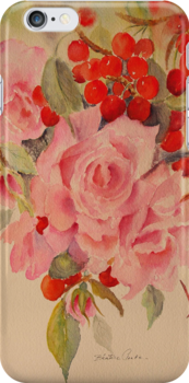 """Ipod case """"Cascade"""" by Beatrice Cloake"""