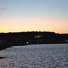 Sunset in Mumbles by Elinor Barnes