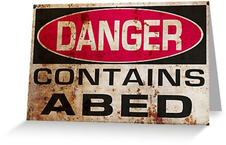 DANGER! Contains Abed by ikado