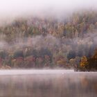 Mist on Loch Tay by Cliff Williams