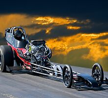 Nostalgia Top Fuel Dragster by DaveKoontz