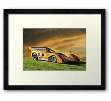 1971 McLaren M8E Can Am Framed Print