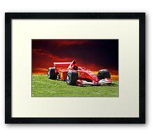 2001 Ferrari Formula 1 (F1) Framed Print