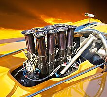 1971 McLaren M8E Fuel Injection System by DaveKoontz