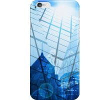 abstract city iPhone Case/Skin