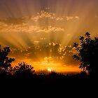 Beautiful IBIZA Sunset San Rafael by Hungaro