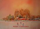Merry Christmas from the Marsh in Kent by Beatrice Cloake