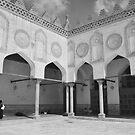 Al Azhar Mosque Cairo by Nigel Fletcher-Jones