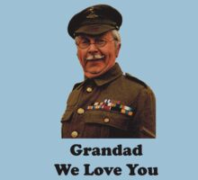 Dad's Army - Clive Dunn  by gemzi-ox