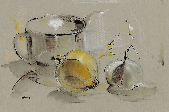 Grey Still Life by Mara Irbe
