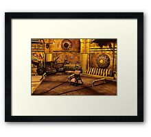 Steampunk Time Machine Framed Print
