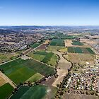 Tamworth, Aerial looking East by Daniel Rankmore