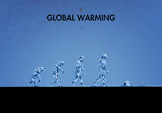 99 Steps of Progress - Global warming by maentis