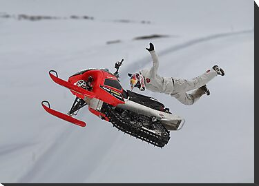 Snowmobile Tricks by Patricia Jacobs CPAGB LRPS BPE2