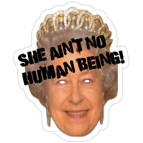 She Ain't No Human Being! by Mother Shipton