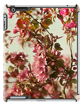 Blossoms iPad case by Ellen van Deelen