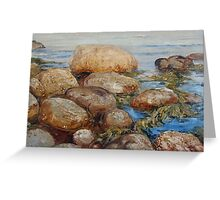 Stones and Sea Greeting Card