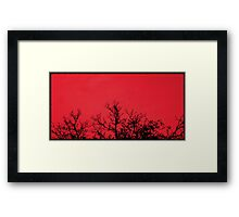The Raven (Available in iPhone, iPod & iPad cases) Framed Print