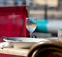 Dining in the sun by Peter Davies