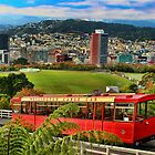 Wellington Cable Car by Heike Richter