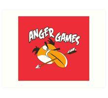 Anger Games Art Print