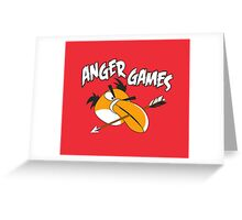 Anger Games Greeting Card