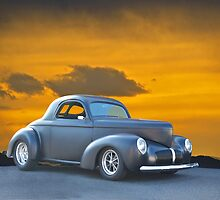 1940 Willys Coupe by DaveKoontz