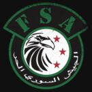 Free Syrian Army logo small worn by obskura