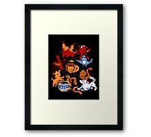 Little Thronies Framed Print