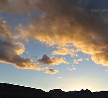 Nevada November Skies 5 by FrankieTease