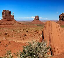 Between Sand and Sky - Monument Valley, Utah, USA by Sean Farrow