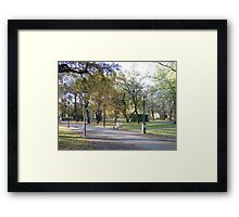 Berlin Park Framed Print