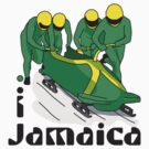 I LOVE JAMAICA T-shirt by ethnographics