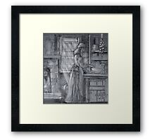 The Note Framed Print