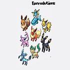 Eeeveelutions-Ipod by ThatGingerSheep