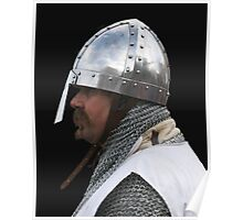 Medieval Knight Portrait Poster