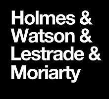 The Men Of BBC Sherlock by fangirlshirts