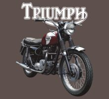 Triumph Bonneville by Tony  Newland