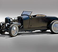1930 Ford Model A Roadster by DaveKoontz