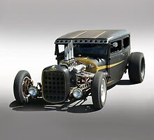 Rat Rod Sedan by DaveKoontz