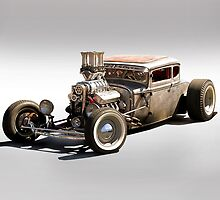 Rat Rod Coupe by DaveKoontz