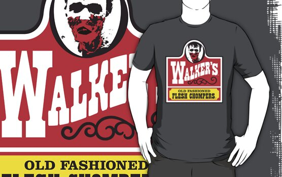 Walkers - Old Fashioned Flesh Chompers by TeeHut