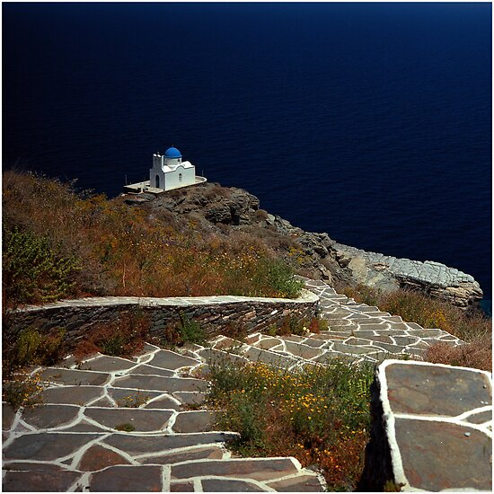 Sifnos (Kastro), Greece by MaxKvitkov