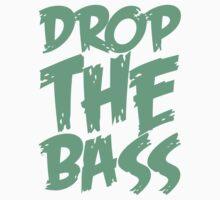 Drop The Bass (Black) Kids Clothes
