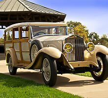 Rolls Royce Woody Wagon by DaveKoontz