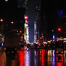 Manhattan at night by Confundo