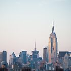New York sunset by SandrineBoutry