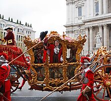 The Lord Mayor Of London Alderman Roger Gifford by Keith Larby