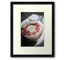 A special thankyou, for that special person. Framed Print